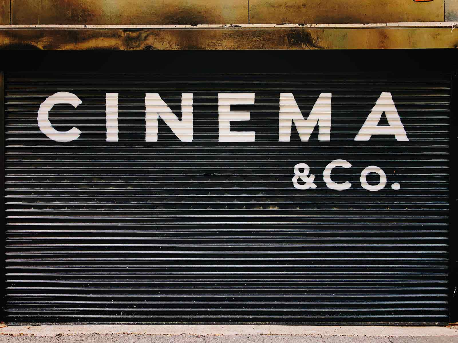 Cinema door