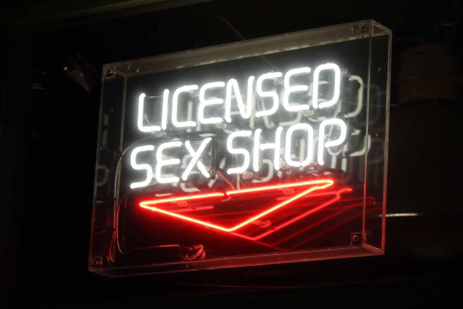 Sex shop cinema